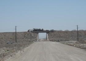 زیرسازی خط راه آهن شعیبیه