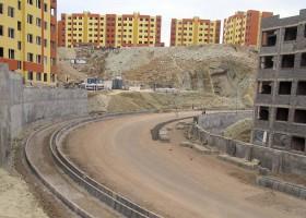 اجرای خیابان های اصلی فاز 9 شهر جدید پردیس