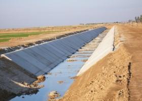 زهکش اصلی و کانال های فرعی شرق شعیبیه ( شعیبیه 2 )