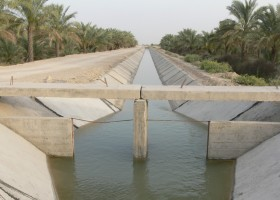 احداث کانال های شبکه آبیاری و ایستگاه پمپاژ کلل،زیارت و بنار