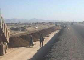 پروژه احداث محور کاروان-کنارک ( قطعه یک )