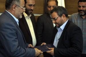 مراسم تودیع و معارفه مدیر عامل شرکت راهسازی و عمران ایران